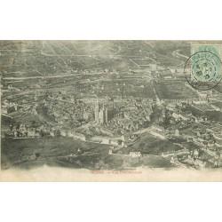 48 MENDE. Vue panoramique sur la Cathédrale 1910