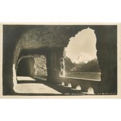 Suisse Axenstrasse Galerie und Bristenstock 1924
