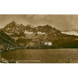 Zermatt et Fribourg. Lac et Chapelle du Lac Noir animation 1922