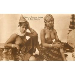 ALGERIE. Femmes Arabes du Sud Algérien aux seins nus