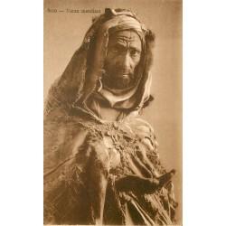 ALGERIE. Vieux mendiant