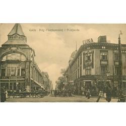 Pologne. LODZ. Rog Piotrkowskiej i Przejazdu 1919