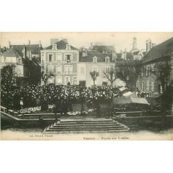18 VIERZON. Marché aux Volailles 1921