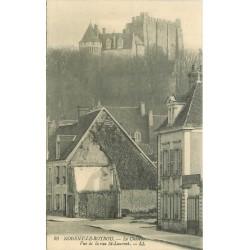28 NOGENT-LE-ROTROU. Le Château vue de la rue Saint-Laurent