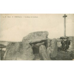 29 PORTSALL. Le Dolmen de Guilligui
