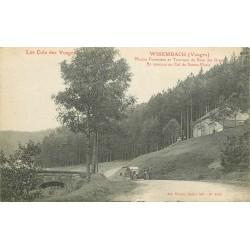 88 WISEMBACH. Maison Forestière et Tournant du Rain des Orges