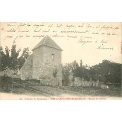 60 ELINCOURT-SAINTE-MARGUERITE. Ruines de l'Abbaye 1904