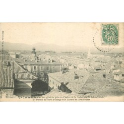 84 CARPENTRAS. Beffroi, Porte Orange et Clocher Observance 1907