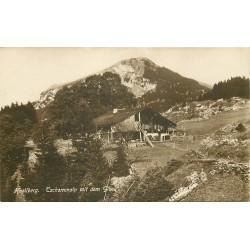 Suisse. HASLIBERG. Tschorrenalp mit dem Gibel 1920