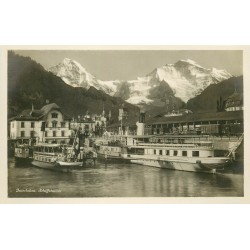 Suisse. INTERLAKEN. Schiffstation 1929