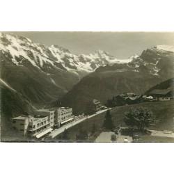 Suisse. MÜRREN. Hotels Alpina Edelweiss 1934