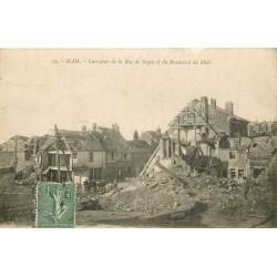 80 HAM. Carrefour de la Rue de Noyon et Boulevard du Midi 1919