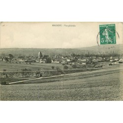 89 MALIGNY. Vue générale sur le Village 1909