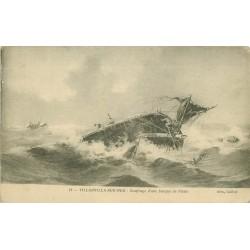 14 VILLERVILLE-SUR-MER. Naufrage d'une barque de Pêche