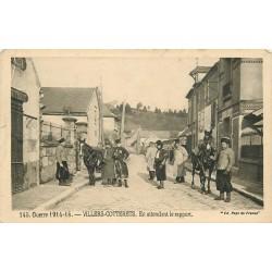 GUERRE 1914-18. Villers-Cotterets en attendant le rapport