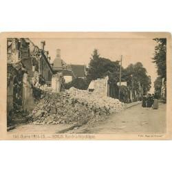 GUERRE 1914-18. Senlis rue de la République