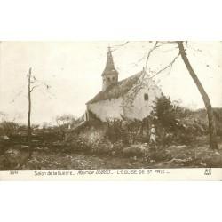 95 SAINT-PRIX. L'Eglise par Maurice Dubois au Salon de la Guerre