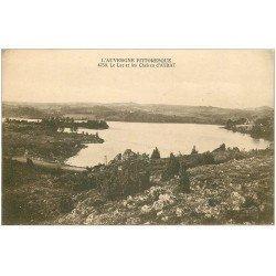 carte postale ancienne 63 AYDAT. Le Lac et les Cheires