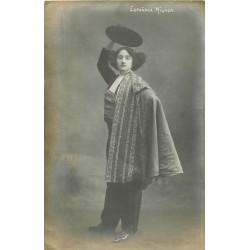 """Photo cpa Danseuse et chanteuse de Flamenco """" Espanola Mignon """""""