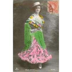 """Chanteuse et Danseuse de Flamenco Gitane """" Bella Leonor """" 1908"""