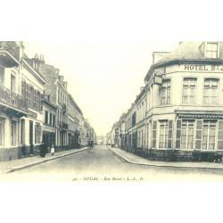 59 DOUAI. Rue Morel Hôtel Saint-Jacques