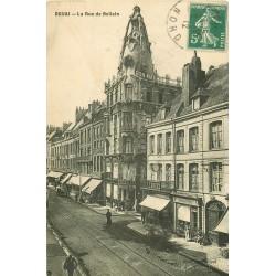 59 DOUAI. Au Bon Marché Rue de Bellain 1912