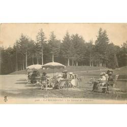 63 LA BOURBOULE. La Terrasse de Charlanne bien animée 1921