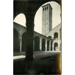 2 x photo cpa MILANO. Basilica di S. Ambrogio 1935