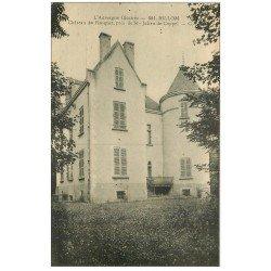 carte postale ancienne 63 BILLOM. Château du Ranquet 1930