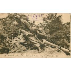 2 x cpa 55 VERDUN. Monument aux Défenseurs et Panorama 1915
