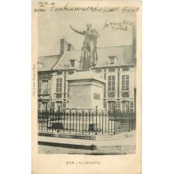 Deux cpa 80 HAM. Fantaisie et Général Foy 1903