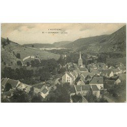 carte postale ancienne 63 CHAMBON. Le Lac 1905