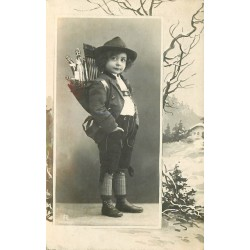 FERRARA. Jeune garçon vendeur ambulant de limonades 1909