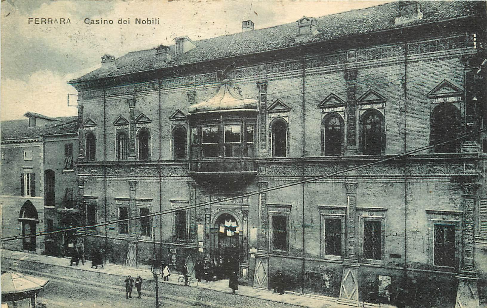 FERRARA. Casino dei Nobili 1926