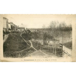 49 CHAMPTOCEAUX. Le Village de la Patache 1942