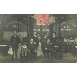 PARIS 09. Café Restaurant Nicoud 13 rue de Mogador 1909