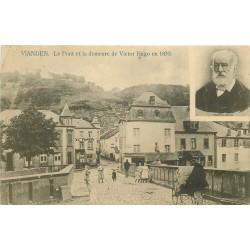 Luxembourg. VIANDEN. Pont et demeure de Victor Hugo 1907