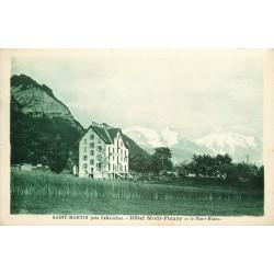 74 SAINT-MARTIN. Hôtel Mont-Fleury et Mont-Blanc