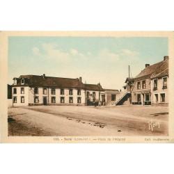 44 TEILLE. Boulangerie Place de l'Hôpital 1951