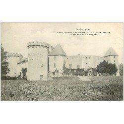 carte postale ancienne 63 CHATEAU DE LAROCHE où est né Michel l'Hospital