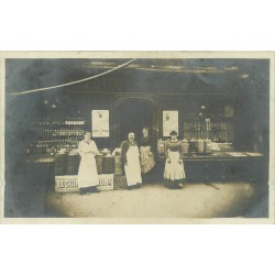 PARIS 13. Epicerie Guiset 24 Bd de l'Hôpital 1910