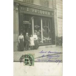 PARIS 08. Fleuriste Pasquier 32 Avenue Montaigne 1907