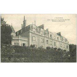carte postale ancienne 63 CHATEAU DE MONTACIE