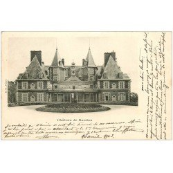carte postale ancienne 63 CHATEAU DE RANDAN 1903
