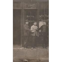 PARIS 10. Café vins Veuve Brauge 9 passage Dubail