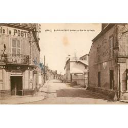 45 FAY-AUX-LOGES. Café Tabac et Hotel du Commerce rue de la Poste 1945