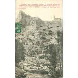 43 ESTOURS. Chapelle sur Rochers 1910