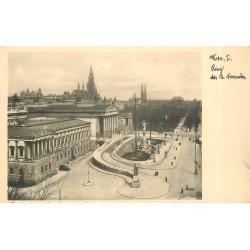 Trois cpa VIENNE WIEN. Rig der 12 November, Universitat und Heldenplatz