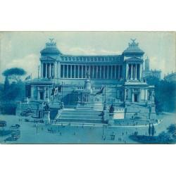 Trois cpa ROMA ROME. Monumento Vittorio Emanuele 1916, Anfiteatro Colosseo 1949 et Templo Castore e Polluce 1932