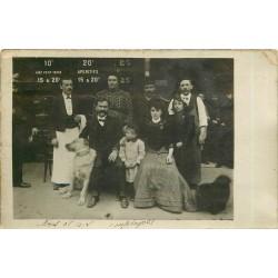PARIS 18. Café Restaurant Alauzet 33 rue Damrémont 1907